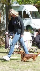 Carina och Killen in action!