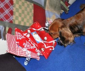 Julklapparna luktar gott!