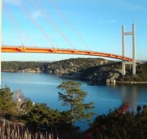 Utsikten vid Tjörnbron!