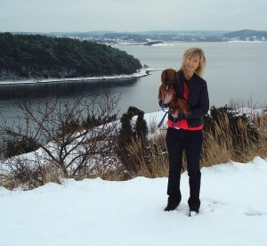 I vinterland.