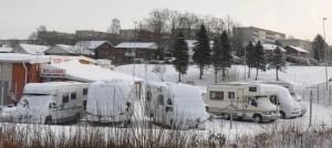 Vinter i Kungälv.