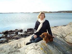 På Marstrand.