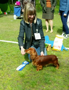 Carina och Josa BIS-2 och BIS-1 unghund!