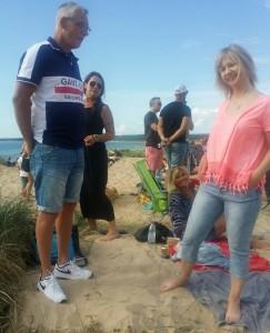 En sväng på After Beach i Tylesand!