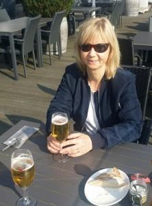 Matte väntar på maten i Kiel