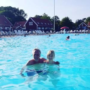 29 grader i poolen.Perfekt!