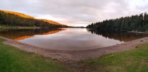 Vackra Ragnarudssjön.