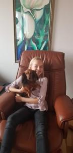 Sofie 11 år! Ett riktigt Lillie fan!